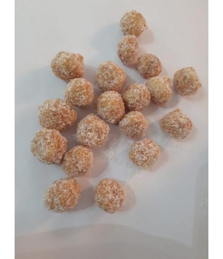 Macadamia caramélisé à la noix de coco