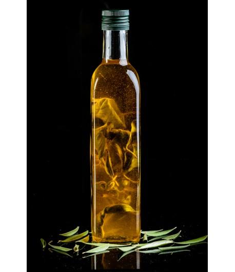 Huile d'olive au romarin